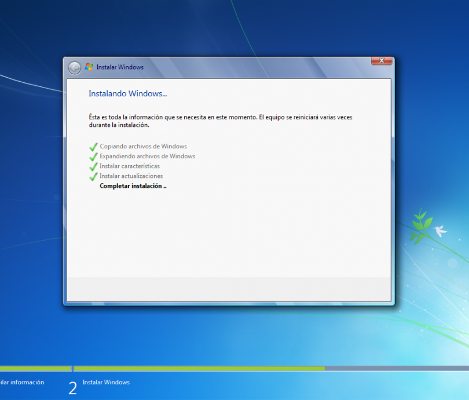 instalando windows